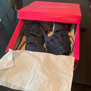 Denim Francisca heels size 9.5